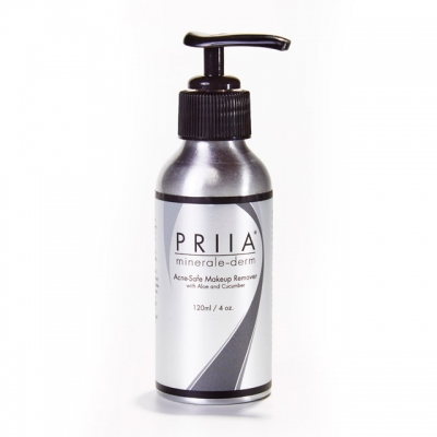Priia Acne Safe Makeup Remover with Aloe and Cucumber